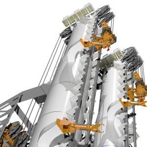 Castor Drilling Tower